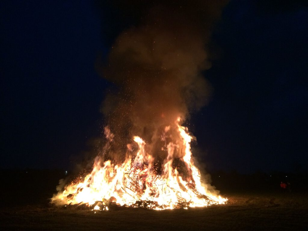 Osterfeuer Landsberied 2015