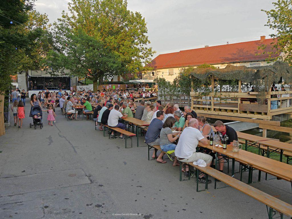 Dorffest Burschenschaft Landsberied 2018